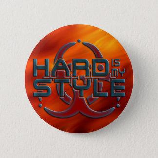 Ist STARK meine ART + Ihr Hintergrund Runder Button 5,7 Cm