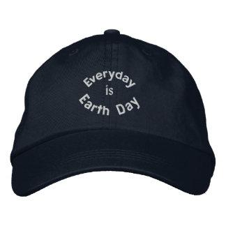 Ist Tag der Erde gestickte Baseballmütze täglich Bestickte Kappe