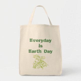 Ist Tag der Erde täglich Tragetasche