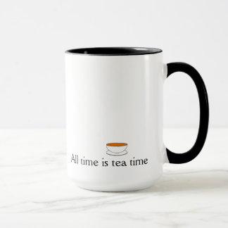 Ist Teezeit beispiellos Tasse