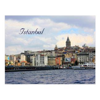 Istanbul-Ansicht Postkarte