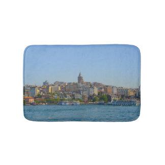 Istanbul die Türkei - Galata Turm Badematte