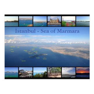 Istanbul - Meer von Marmara mit Prinzen Islands Postkarte