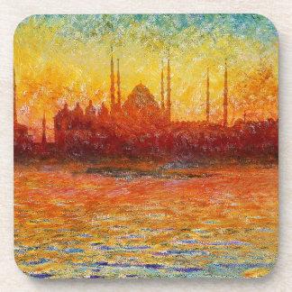 Istanbul-Skyline 3 Getränkeuntersetzer