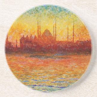 Istanbul-Skyline 3 Untersetzer