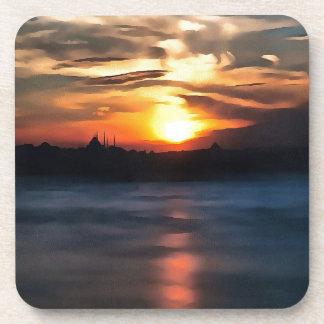 Istanbul-Skyline Getränkeuntersetzer