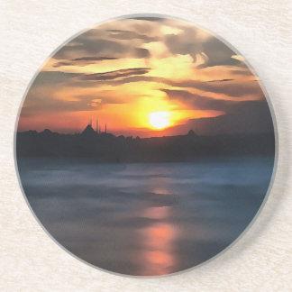 Istanbul-Skyline Untersetzer