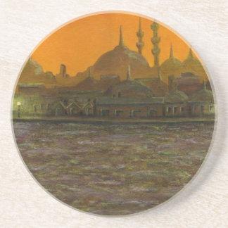 Istanbul Türkiye/die Türkei Getränkeuntersetzer