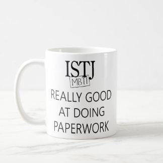 ISTJ die Aufgabe Fullfiller Kaffeetasse