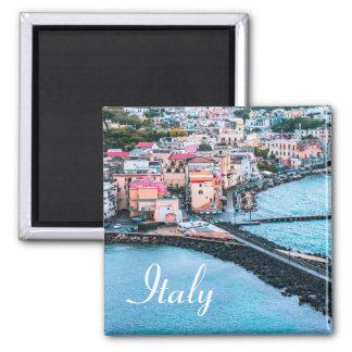 Italien - Andenken-Magnet Quadratischer Magnet