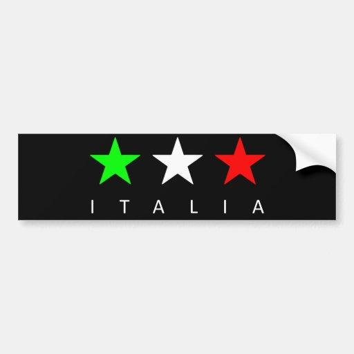 Italien Auto Sticker