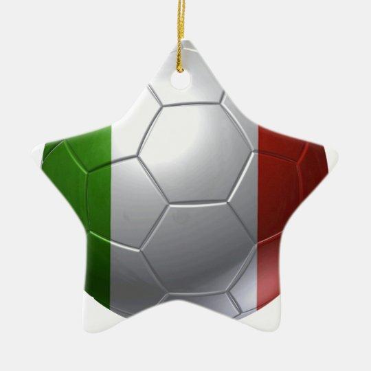 Italien-Ball Keramik Stern-Ornament