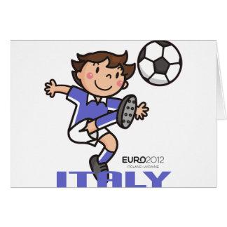 Italien - Euro 2012 Karte