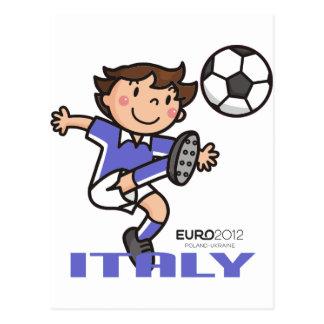 Italien - Euro 2012 Postkarte