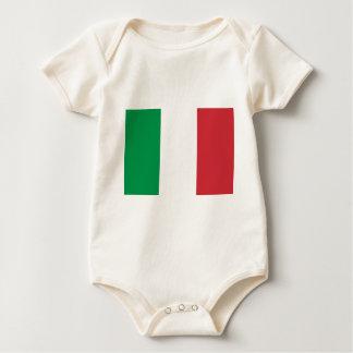 Italien-Flagge Baby Strampler