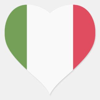 Italien-Flagge - emoji Twitter Herz Sticker