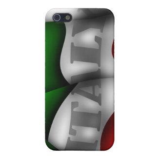 Italien-Flagge Iphone 4/4S Speck-Kasten iPhone 5 Schutzhüllen