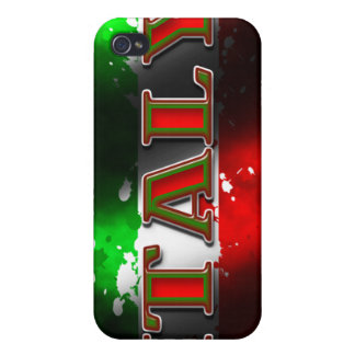 Italien-Flagge Iphone 4 4S Speck-Kasten iPhone 4 Etuis