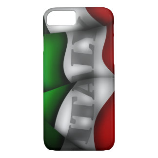 Italien-Flagge iPhone 7 Fall iPhone 8/7 Hülle