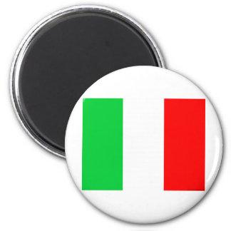 Italien-Flagge - italienische Flagge Runder Magnet 5,7 Cm