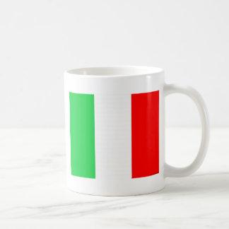 Italien-Flagge - italienische Flagge Kaffee Tasse