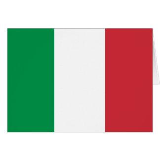 Italien-Flagge Grußkarten