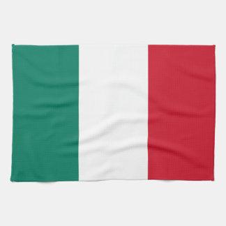 Italien-Flagge Küchenhandtuch