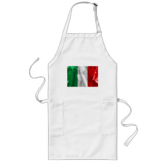 Italien-Flagge Lange Schürze
