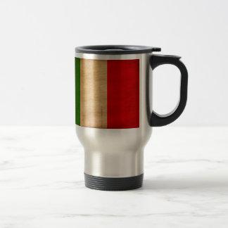 Italien-Flagge Reisebecher