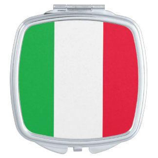 Italien-Flagge Schminkspiegel