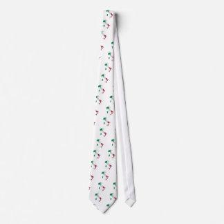 Italien-Flaggen-Karte Bedruckte Krawatten