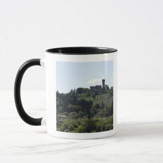 Italien, Florenz, Schloss auf Gipfel Tasse