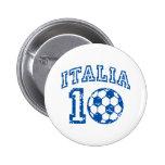 Italien-Fußball Anstecknadelbuttons