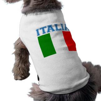 Italien-Fußball Ärmelfreies Hunde-Shirt