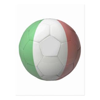 Italien-Fußball Postkarte