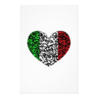 Italien-Herz Briefpapier