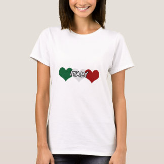 Italien-Herz T-Shirt