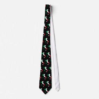Italien in den italienischen Farben mit Ziegeln Individuelle Krawatte