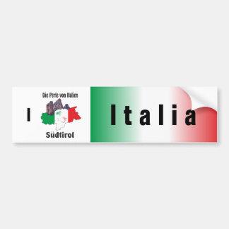 Italien - Italia Autoaufkleber