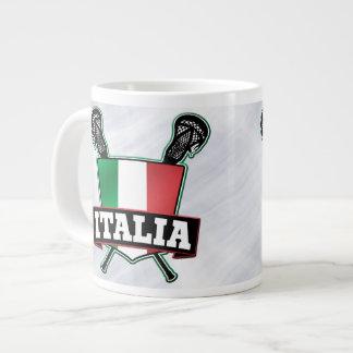 Italien Italien Lacrosse-Flaggen-Schale Extragroße Tassen