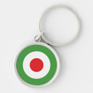 Italien-Italiener-Italien-Flagge Tricolore Entwurf Schlüsselanhänger