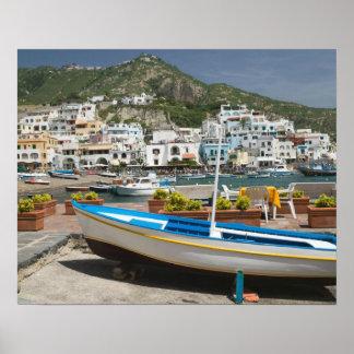 ITALIEN, Kampanien, (Bucht von Neapel), ISCHIA, Plakatdruck