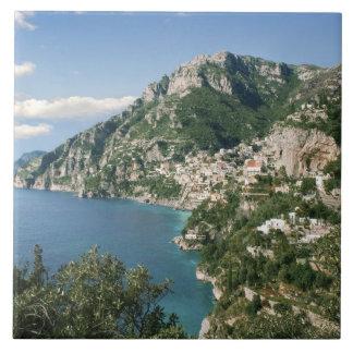 Italien, Kampanien, Sorrentine Halbinsel, Keramikfliese
