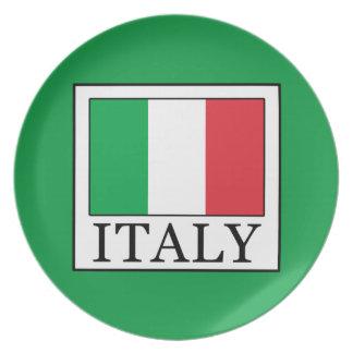 Italien Melaminteller