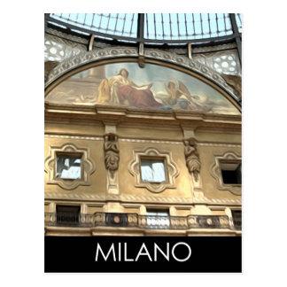ITALIEN MILANO POSTKARTE