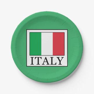 Italien Pappteller