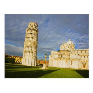 Italien, Pisa, Duomo und lehnender Turm, Pisa, 2 Postkarte