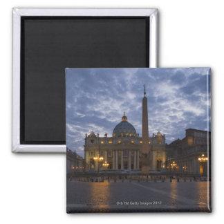 Italien, Rom, Vatikanstadt, St Peter Basilika Quadratischer Magnet