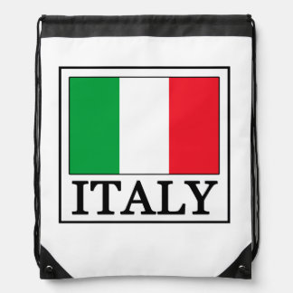 Italien-Rucksack Turnbeutel