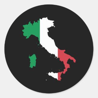 Italien Runder Aufkleber